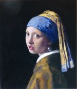 After Vermeer Girl with a Pearl Earing
