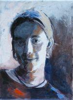 Caroline Johnson artist Adelaide Hills painting portraiture limited pallet.