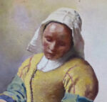 After Vermeer The Milkmaid