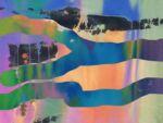 Caroline Johnson Digital Artist Poured Landscape Non representative